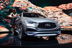 Infiniti QX30 Concept Stock Photography