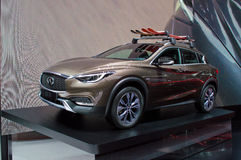 Infiniti QX30 at Geneva 2016 Royalty Free Stock Photography