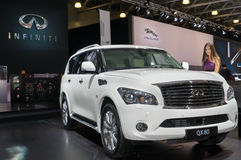 Infiniti QX80 Royalty Free Stock Images
