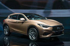 Infiniti QX30 - world premiere. Royalty Free Stock Photos