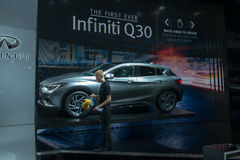 Infiniti QX30 - world premiere. Stock Image