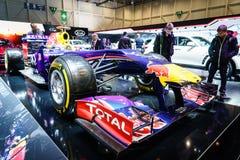 Infiniti Red Bull RB11 de emballage, Salon de l'Automobile Genève 2015 Image stock