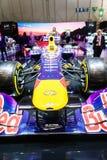Infiniti Red Bull RB11 de emballage, Salon de l'Automobile Genève 2015 Photographie stock libre de droits