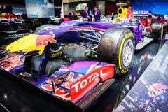 Infiniti Red Bull som springer RB11, motorisk show Geneve 2015 Arkivfoton