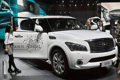 Infiniti 4x4 SUV di Nissan Fotografie Stock