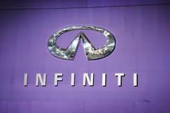 Infiniti Zeichen Stockfotos