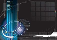 Infinito de alta tecnología ilustración del vector