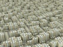 Infinito del dólar Imágenes de archivo libres de regalías