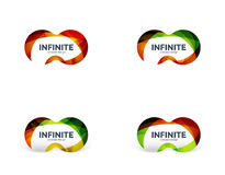 Infinity business logo concept Royalty Free Stock Image
