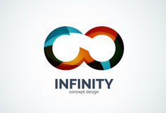 Infinity company logo icon Stock Photos