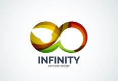 Infinity company logo icon Stock Photos