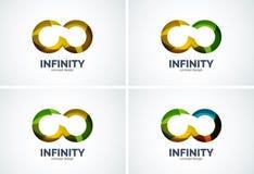 Infinity company logo icon Stock Photography
