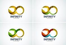 Infinity company logo icon Stock Images