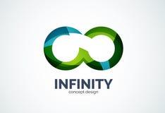 Infinity company logo icon Stock Photo