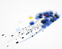 Infinity computer new technology concept business background Royalty Free Stock Image