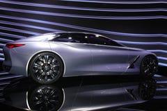 Infinity concept car at Paris Motor Show - Oct 2014 Stock Photography