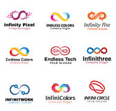 Infinity Design Illustration. Creative Infinity Symbol Design Illustration Royalty Free Stock Image