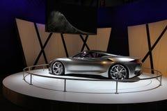 Infinity grey Emerg-e car Royalty Free Stock Photo