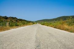 infinity isolated road Στοκ Εικόνες