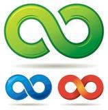 Infinity Logo royalty free illustration