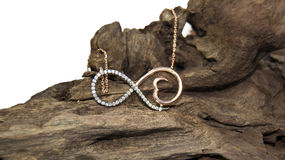 Infinity necklace Stock Photography
