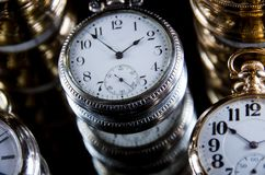 Infinity and the Never Ending Progression of Time. Infinity and the Never Ending Silent Progression of Time Stock Image