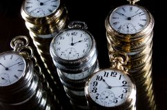 Infinity and the Never Ending Progression of Time. Infinity and the Never Ending Silent Progression of Time Royalty Free Stock Photo