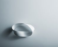 Infinity paper ring Stock Image