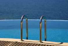 Infinity Pool Stock Photos