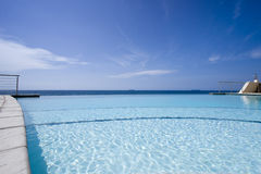 Infinity Pool Royalty Free Stock Photo