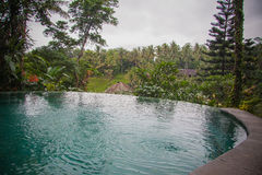 Infinity pool Royalty Free Stock Photo