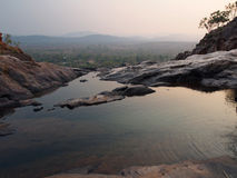 Infinity Pool at Gunlom (Waterfall Creek), Kakadu National Park, Australia Royalty Free Stock Photo