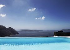 Infinity Pool Royalty Free Stock Images