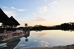 Infinity Pool, Matobos, Zimbabwe Royalty Free Stock Images