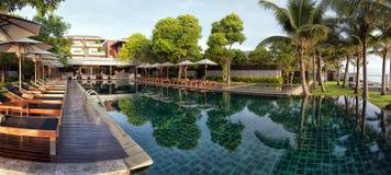 Infinity Pool panorama Stock Photo