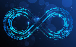 Infinity sign Royalty Free Stock Photos