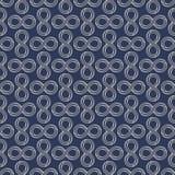 Infinity sign minimal seamless pattern design Stock Photography
