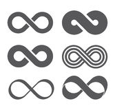 Infinity sign. Mobius strip Stock Photography