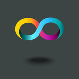 Infinity sign Stock Images