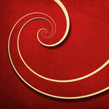 Infinity spiral grunge background. Red infinity spiral grunge striped background stock illustration