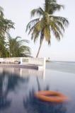 Infinity swimming pool Corn Island Nicaragua Stock Photos