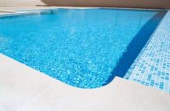 Infinity swimming pool Stock Photography