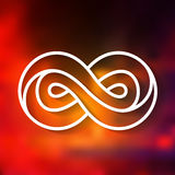 Infinity symbol  Royalty Free Stock Image
