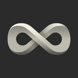 Infinity symbol. Conceptual icon. Logo template Stock Photos