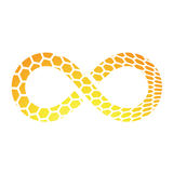 Infinity Symbol Design Royalty Free Stock Image