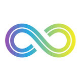 Infinity Symbol Design Stock Photo