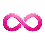 Infinity Symbol Design Royalty Free Stock Images