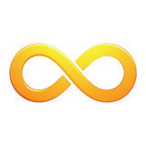 Infinity Symbol Design Royalty Free Stock Photography