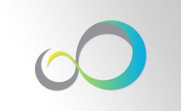 Infinity Symbol. Illustration, perfect for logo or Illustration Element Stock Photos