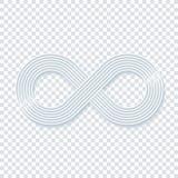 Infinity symbol. Royalty Free Stock Image